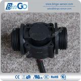 G1 Tarief 060L/Min van '' de Plastic Zwarte Meter van het Water, de Sensor van de Stroom voor Drinkwater