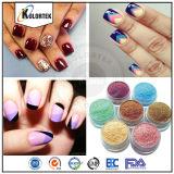 Polonais Multicolore Mica Powder, Pearl Pigment pour Vernis à ongles