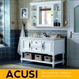Vanité simple en gros de la meilleure qualité neuve de salle de bains en bois solide de type (ACS1-W49)