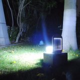 Sensor de movimento LED Solar Light Wall Garden Home Light com bateria de backup