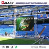Cartelera a todo color al aire libre de la pantalla de visualización de LED del alquiler P3.91/P4.81/5.95 con el panel ligero