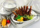 安全および容易食糧使用のアルミホイルの皿を取り除きなさい