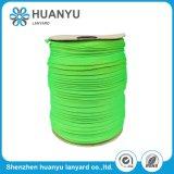 De elastiek Geweven Groene Dubbele Riem van de Polyester van de Laag Tubulaire Vlakke
