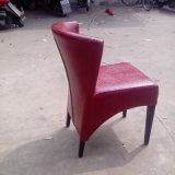 Cadeira de couro da mobília da entrada do hotel do plutônio (JY-F17)