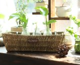 (BC-SF1020) Eco-Friendly Handmade 자연적인 밀짚 꽃 바구니