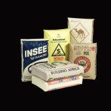Kundenspezifischer Heißsiegel gesponnener lamellierter Kraftpapier Beutel pp.-Adhersive mit seitlichem Stützblech