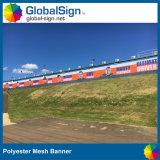 Costruzione che recinta le bandiere su ordinazione dello schermo del vento del tabellone per le affissioni di colore completo