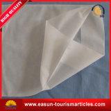 白く使い捨て可能なPillowslip航空会社の枕タケカバー枕箱