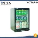 130L suportam o refrigerador da barra sob a barra