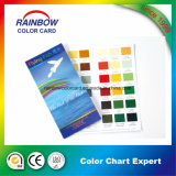 Glossy Paint Printing Color Chart para Anúncio
