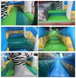 Divertidos del zoo temático de diapositivas inflables en seco para la celebración de días (CHSL651-2)