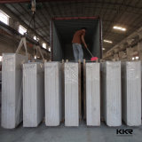 Pedra branca pura de quartzo da fábrica de pedra artificial de China