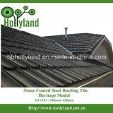 China plooide het Steen Met een laag bedekte Klassieke Type van Blad van het Dakwerk
