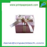 주문 서류상 마분지 리본 패킹 축제 선물 포장 상자