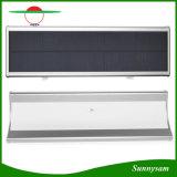 60 indicatore luminoso fissato al muro esterno solare dell'indicatore luminoso 1100lm del sensore di movimento del radar di a microonde del LED per il giardino dell'iarda con i quattro modi di illuminazione