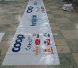 La impresión de encargo al aire libre que hace publicidad Bloquea-hacia fuera la bandera del PVC del vinilo (SS-VB84)