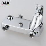Fléau de luxe plaqué par chrome en laiton de première qualité de douche de pluie de salle de bains de qualité