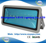 Yaye Ce/RoHSの18の熱い販売法500Wの穂軸LEDのトンネルライトLEDプロジェクターライト屋外LED洪水ライト