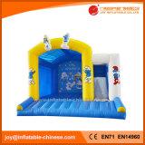 Das federnd Schloss-Kind-aufblasbare Prahler-Plättchen kombiniert (T3-150)