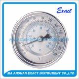 Termometro bimetallico inossidabile personalizzato di vendita calda