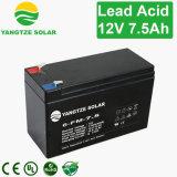 A maioria de bateria acidificada ao chumbo selada 7.5ah de confiança do UPS 12V