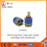 40 mm de alto caudal de cartucho de cerámica para baño cocina &toca
