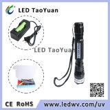 Lanterna elétrica de cura UV 365nm 3W do diodo emissor de luz