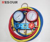La carga de refrigeración tubos, mangueras estándar con válvula de bola R12/R22/R502/R134/R410.