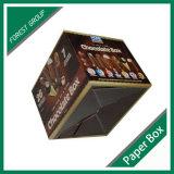 Подгонянная коробка бумажного шоколада упаковывая