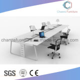 現代家具の木の事務机のスタッフ表ワークステーション