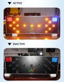 Taille personnalisée de l'aluminium panneau routier LED flèche de trafic d'administration