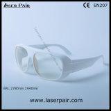 2780nm 2940nm óculos de segurança do laser Er & Eye Óculos de protecção com moldura branca 52