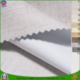 Textile à la maison enduisant le tissu de rideau en polyester tissé par arrêt total imperméable à l'eau