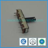 Fournisseurs d'usine 30mm 45mm 60mm Potentiomètre linéaire 10k, Potentiomètre coulissant droit 10k 100k 20k