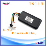Водоустойчивый отслежыватель IP67 GPS с GPS/Lbs удваивает режим (Tk119)