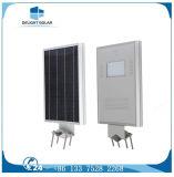 Garantie de 5 ans 60W intégré tous solaire de jardin dans une rue lumière solaire
