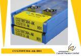 Вставка Korloy Ccgt09t302-Ak H01 филируя для филируя вставки карбида инструмента