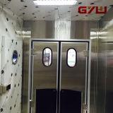 Oscilación de las puertas, abiertas 180º