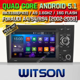 Witson Android 5.1 Car DVD para Audi A4 / S4 / RS4 (2002-2008)