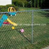 Сетка мелкоячеистой сетки загородки звена цепи PVC Sailin Coated
