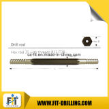 """(1 3/8 """") foret Rod de morceau de /Chisel /Rock du bouton R35 alésant des outils"""