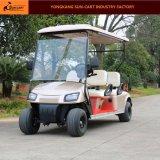 カスタマイズされた新しいモデル4のSeaterの電気ゴルフカート