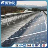 Anodizado de aluminio de plata perfil del marco del panel solar para la Sistema Solar