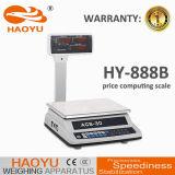 Piattaforma RS232 che pesa la scala di prezzi con la bella apparenza