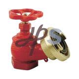 Válvula de aterrizaje de manguera de fuego de latón para sistema de boca de incendios L104