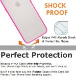 Clear Back Hard Cover Slim Fit Scratch-Resistant Bumper Case Skin pour iPhone 6 Plus 5.5 ""