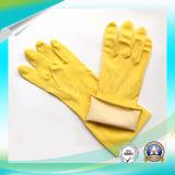 Guantes impermeables de látex de trabajo con aprobación ISO