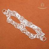 Merletto elastico del tessuto del Crochet del merletto del collare degli accessori dell'indumento