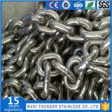Encadenamiento de conexión del acero inoxidable (DIN766)