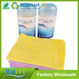 43 * 32 * 0.2 / 66 * 43 * 0.2 Embossing Drum Icy Cold Towel PVA Deerskin Chamois Towel